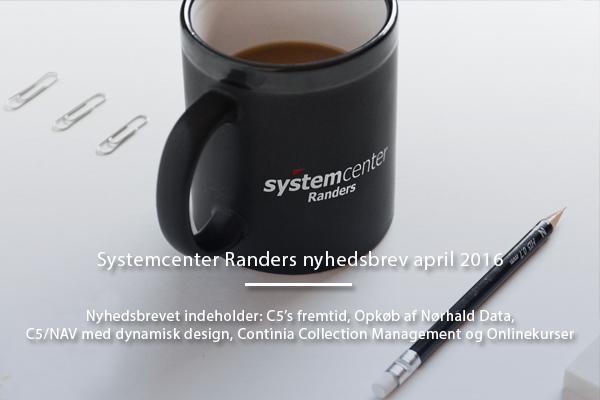Systemcenter Randers Nyhedsbrev April